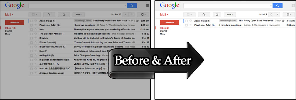 Reduce the spam you get in Gmail
